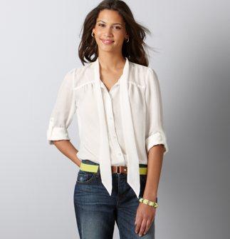 blouse, LOFT.