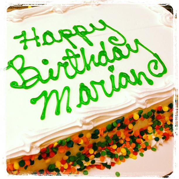 Resultado de imagen de happy birthday marian